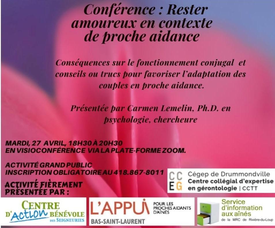 Conférence 27 avril 2021 (Auteur : Louise Gagnon)