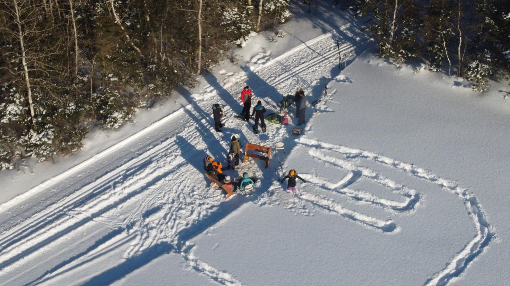 Piste de ski de fond 2