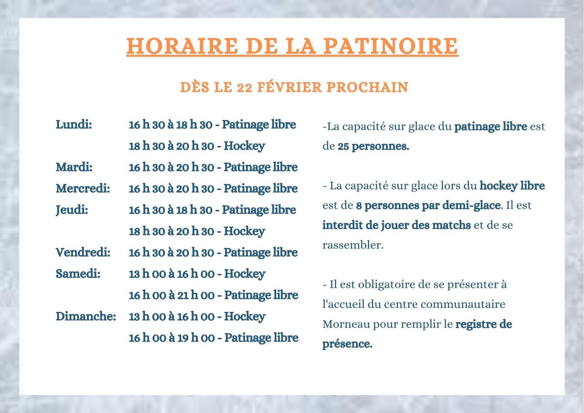 Patinoire (Photo : © Louise Gagnon)
